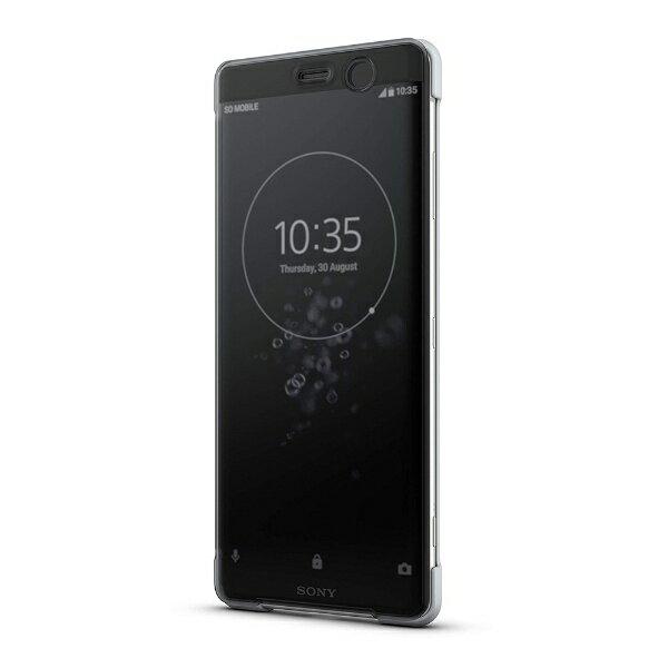 ソニー SONY Xperia XZ3 Style Cover Touch SCTH70JP/H グレー[SCTH70JPH]
