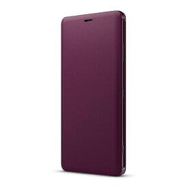 ソニー SONY Xperia XZ3 Style Cover Stand SCSH70JP/R レッド