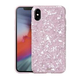 LAUT ラウ iPhone XS 5.8インチ用 LAUT PEARL PINK ROSE LAUT_IP18-S_PL_P