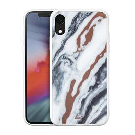 LAUT ラウ iPhone XR 6.1インチ用 LAUT MINERAL WHITE LAUT_IP18-M_MG_MW