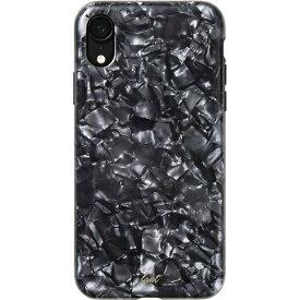 LAUT ラウ iPhone XR 6.1インチ用 LAUT PEARL BLACK PEARL LAUT_IP18-M_PL_BK