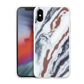 LAUT ラウ iPhone XS Max 6.5インチ用 LAUT MINERAL WHITE LAUT_IP18-L_MG_MW
