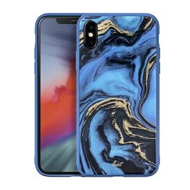 LAUT ラウ iPhone XS Max 6.5インチ用 LAUT MINERAL BLUE LAUT_IP18-L_MG_MBL