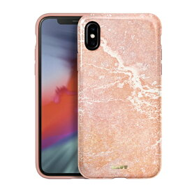 LAUT ラウ iPhone XS Max 6.5インチ用 LAUT HUEX ELEMENTS MARBLE PINK LAUT_IP18-L_HXE_MP