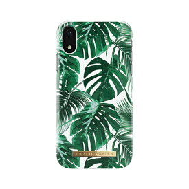 IDEAL OF SWEDEN iPhone XR 6.1インチ用 FASHION CASE 17S/S MONSTERA JUNGLE IDFCS17-I1861-61