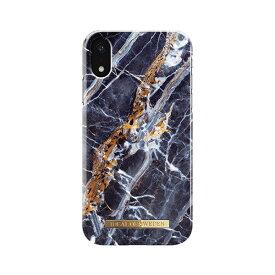 IDEAL OF SWEDEN iPhone XR用ケース  ミッドナイト ブルー マーブル IDFCS17-I1861-66