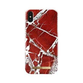IDEAL OF SWEDEN iPhone XS MAX用ケース スカーレットレッドマーブル IDFCS18-I1865-71