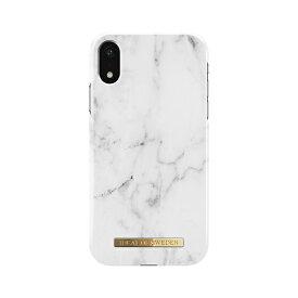 IDEAL OF SWEDEN iPhone XR用ケース  ホワイトマーブル IDFC-I1861-22