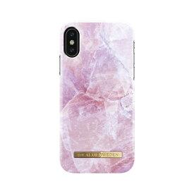 IDEAL OF SWEDEN iPhone X用ケース ピリオン ピンク マーブル IDFCS17-I8-52
