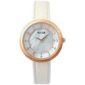 ルビンローザ Rubin Rosa ソーラーパワー レディース腕時計 R060 Series R060PWHWH