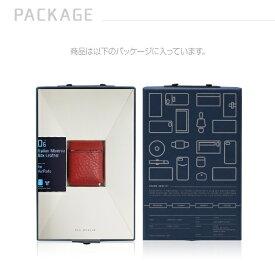 ROA ロア AirPods専用 Minerva Box Leather Case SLG レッド SD11849AP