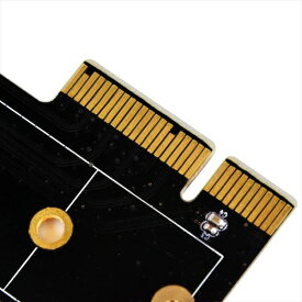 SilverStone シルバーストーン インターフェースカード PCI-Express x4[M.2 SSD] ロープロファイル対応 SST-ECM25[SSTECM25]
