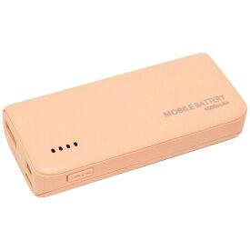 ラスタバナナ RastaBanana タブレット/スマートフォン対応[micro USB/USB給電] USBモバイルバッテリー +micro USBケーブル 2.1A ライトピンク RLI040M2A01LP [4000mAh /1ポート /充電タイプ]