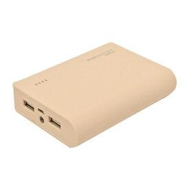 ラスタバナナ RastaBanana タブレット/スマートフォン対応[micro USB/USB給電] USBモバイルバッテリー +micro USBケーブル (2A/1A) ライトピンク RLI080M2A01LP [8000mAh /2ポート /充電タイプ]