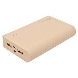 ラスタバナナ RastaBanana タブレット/スマートフォン対応[micro USB/USB給電] USBモバイルバッテリー +micro USBケーブル (2A/1A) ライトピンク RLI100M2A01LP [10000mAh /2ポート /充電タイプ]