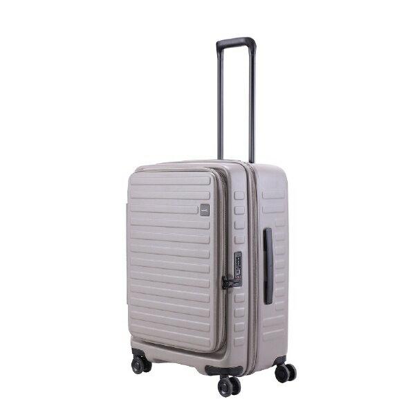 LOJEL スーツケース CUBO-N Mサイズ CUBONMGY グレー[CUBONMGY] 【メーカー直送・代金引換不可・時間指定・返品不可】