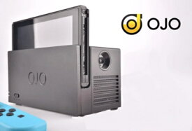 【送料無料】 YesOJO Nintendo Switch用OJO Projector+キャリングケース G01-TB【Switch】