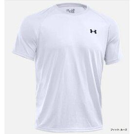 アンダーアーマー UNDER ARMOUR トレーニング UAテックTシャツ(XLサイズ/WHT×BLK) 1228539