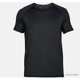アンダーアーマー UNDER ARMOUR メンズ トレーニング Tシャツ(LGサイズ/BLK×SLG)1306428