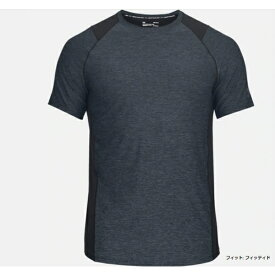 アンダーアーマー UNDER ARMOUR メンズ トレーニング Tシャツ(MDサイズ/BK×SG(02)1306428
