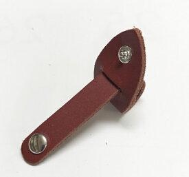 ガレリア GALLERIA Zip Tie 牛革コードクリップ 3020106 ワインレッド