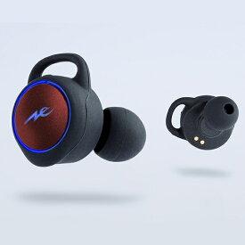 ラディウス フルワイヤレスイヤホン レッド HP-T100BTR [リモコン・マイク対応 /ワイヤレス(左右分離) /Bluetooth][ ワイヤレスイヤホン HPT100BTR ]