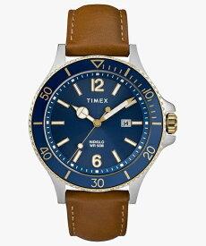 タイメックス TIMEX メンズ腕時計 ハーバーサイド タン レザー TW2R64500 [正規品]