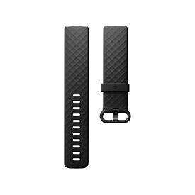 Fitbit フィットビット Fitbit フィットビット Charge3 専用 純正 交換用 クラシック リストバンド Black ブラック Sサイズ【日本正規品】 FB168ABBKS[FB168ABBKS]