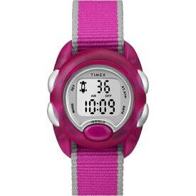 タイメックス TIMEX TIMEX Kids タイムマシーンデジタル ピンク ナイロンストラップ TW2R99000 [正規品]