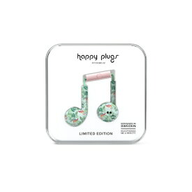HAPPYPLUGS ハッピープラグス インナーイヤー型 EARBUD-PLUS-PINK-FLAMINGOS7606 ピンクフラミンゴ [リモコン・マイク対応 /φ3.5mm ミニプラグ][EARBUDPLUSPINKFLAMIN]