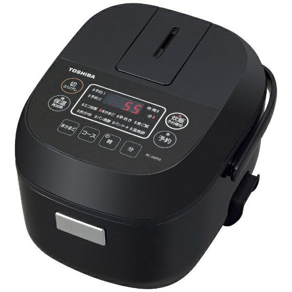 東芝 TOSHIBA RC-5MFM-K 炊飯器 ブラック [3合 /マイコン][RC5MFMK]