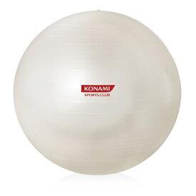 コナミスポーツクラブ KONAMI SPORTS CLUB バランスボール ボディボール パールホワイト 55cm HZR01JA