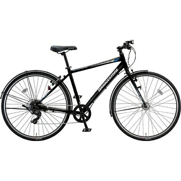 ブリヂストン BRIDGESTONE 27型 クロスバイク ティービーワン(E.Xブラック/420mmフレームサイズ・7段変速)TB42【2019年モデル】【組立商品につき返品不可】【b_pup】 【代金引換配送不可】