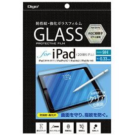 ナカバヤシ Nakabayashi 【ビックカメラグループオリジナル】iPad(9.7inch) 2018用 液晶保護ガラスフィルム 防指紋高光沢 TBF-BIP181GFLS【point_rb】