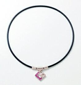 コラントッテ Colantotte ネックレス TAOネックレス スリム AURA mini(Mサイズ/シャンパンゴールド×ピンクラメ)