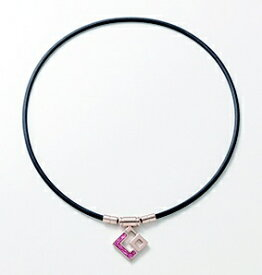 コラントッテ Colantotte ネックレス TAOネックレス スリム AURA mini(Lサイズ/シャンパンゴールド×ピンクラメ)