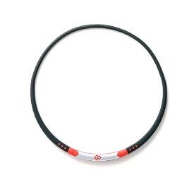 コラントッテ Colantotte ネックレス ワックルネック SPORT(ブラック×レッド/Lサイズ)