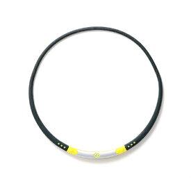 コラントッテ Colantotte ネックレス ワックルネック SPORT(ブラック×ライムイエロー/Lサイズ)