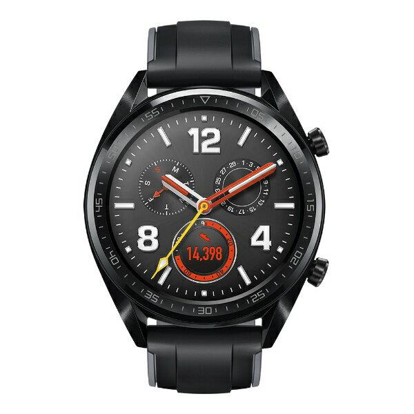 HUAWEI ファーウェイ Watch GT スポーツモデル 55023249 [スマートウォッチ] WatchGT/GraphiteBlack グラファイト ブラック[WATCHGTGRAPHITE]