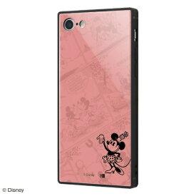 イングレム Ingrem iPhone SE(第2世代)4.7インチ/ iPhone 8 / 7用 『ディズニーキャラクター OTONA』 耐衝撃ガラスケース KAKU IQ-DP7K1B/MN001 『ミニーマウス/I AM』』_31