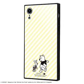 イングレム Ingrem iPhone XR用 『ディズニーキャラクター OTONA』 耐衝撃ガラスケース KAKU IQ-DP18K1B/PO001 『くまのプーさん』_32