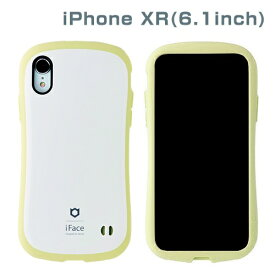 HAMEE ハミィ [iPhone XR専用]iFace First Class Pastelケース(ホワイト/イエロー) 41-899151