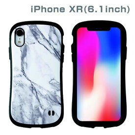 HAMEE ハミィ [iPhone XR専用]iFace First Class Marbleケース(ホワイト) 41-899205