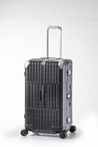 ディパーチャー departure スーツケース ハードキャリー 101L departure(ディパーチャー) レザーマットブラック HD-515-29 [TSAロック搭載]