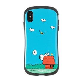 HAMEE ハミィ [iPhone XS Max専用]PEANUTS/ピーナッツ iFace First Classケース 41-904428 スヌーピー&ウッドストック/犬小屋