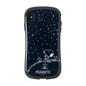 HAMEE ハミィ [iPhone XS Max専用]PEANUTS/ピーナッツ iFace First Classケース 41-904435 スヌーピー&ウッドストック/星空