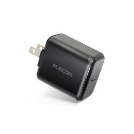 エレコム ELECOM スマホ用USB充電コンセントアダプタ 18W USB Type-C ブラック MPA-ACCP02BK [1ポート /USB Power Delivery対応]
