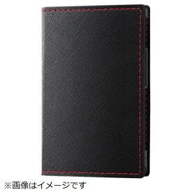 イングレム Ingrem docomo カードケータイ KY-01L用 手帳型ケース スリムコンパクト IN-CKL1CLC2/BB ブラック