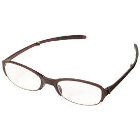 パール Pearl 折りたたみ老眼鏡 シンプルビジョン コンパクト SV-401 WI(ワイン/+3.50)