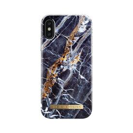 IDEAL OF SWEDEN iPhone XS/X用ケース  ミッドナイト ブルー マーブル IDFCS17-IXS-66